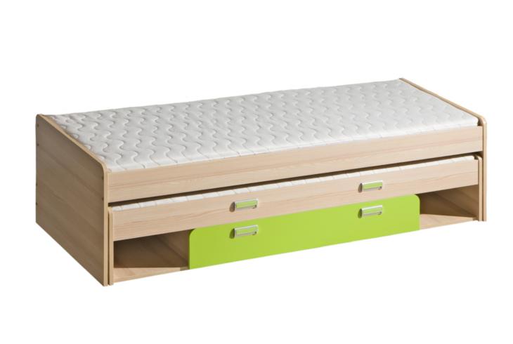 Niedriges Etagenbett : Lr16 niedriges etagenbett mit behälter lorento moebline.de