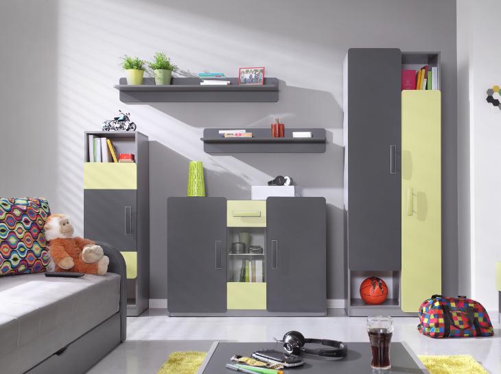 Kinderzimmer Möbel LIDO 6 - MOEBLINE.DE